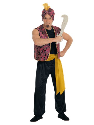 Sultan - Adult Costume front