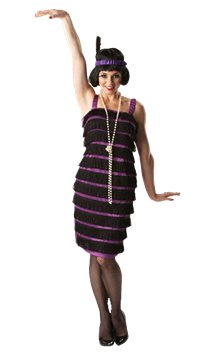 Flapper Dress - Adult Costume