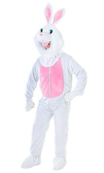 Big Head Rabbit - Adult Costume