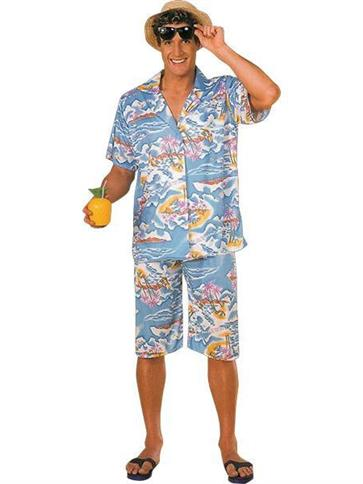 Hawaiian Man - Adult Costume front