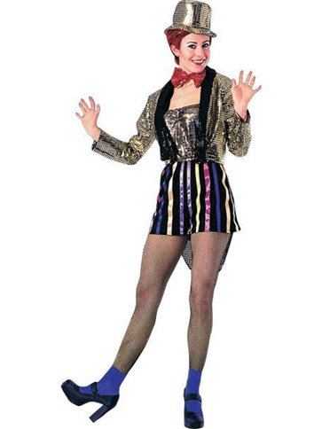 Rocky Horror Columbia - Adult Costume front