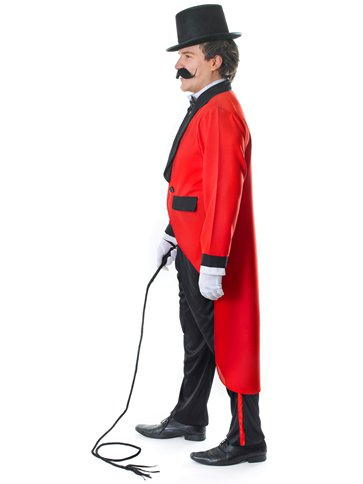 Ringmaster - Adult Costume back