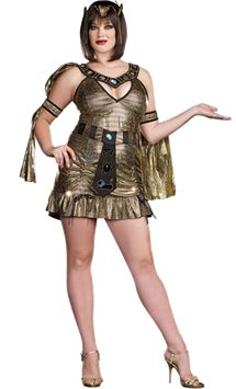 Naughty on the Nile Plus - Adult Costume