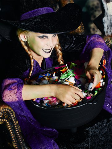 Pretty Potion Witch Child Costume Party Delights