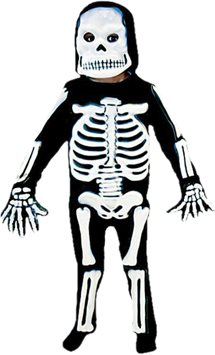Skeleton 3D - Child Costume