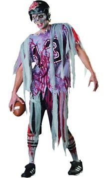 End Zone Zombie - Adult Costume