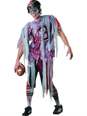 End Zone Zombie Adult Costume Party Delights