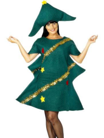 Christmas Tree - Adult Costume front