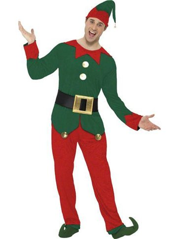 Elf - Adult Costume front