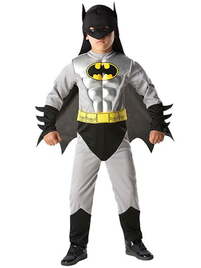 Metallic Batman Deluxe Muscle Chest - Toddler and Child Costume