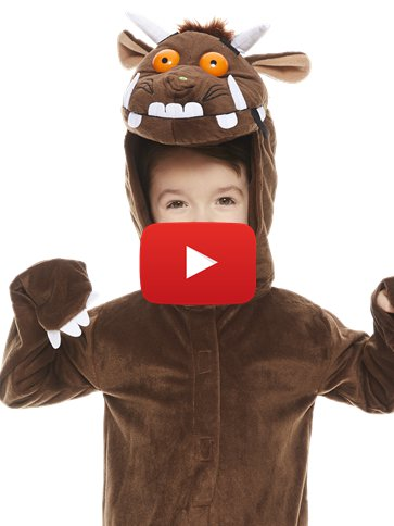 Gruffalo - Child Costume video