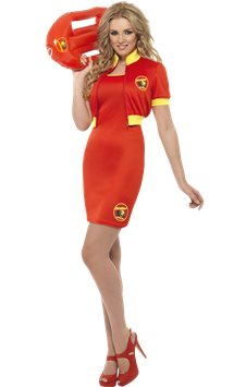 Baywatch Beach Lifeguard - Adult Costume
