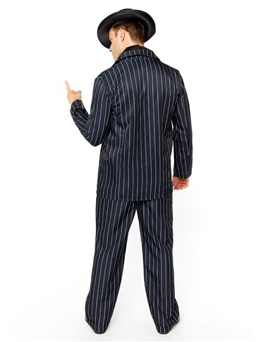 Vintage Gangster Boss - Adult Costume back