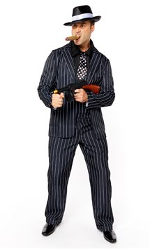 Vintage Gangster Boss - Adult Costume
