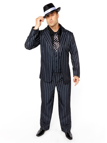 Vintage Gangster Boss - Adult Costume left