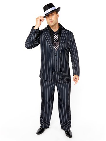 Vintage Gangster Boss - Adult Costume pla
