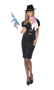 Gangster Moll Costume - Adult Costume