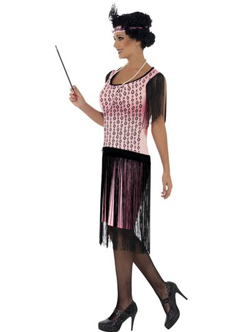 1920s Coco Flapper Dress - Adult Costume back