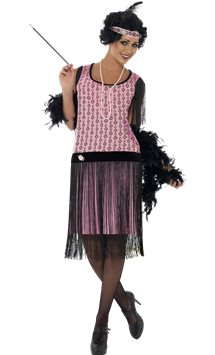 1920s Coco Flapper Dress - Adult Costume
