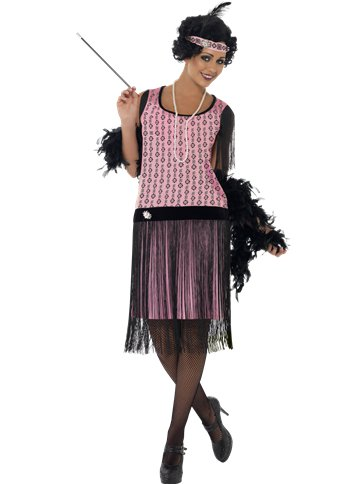 1920s Coco Flapper Dress - Adult Costume front