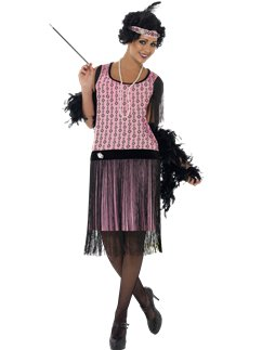 1920s Coco Flapper Dress
