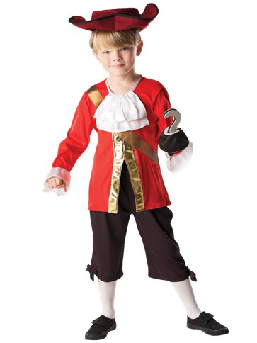 Captain Hook - Child Costume front
