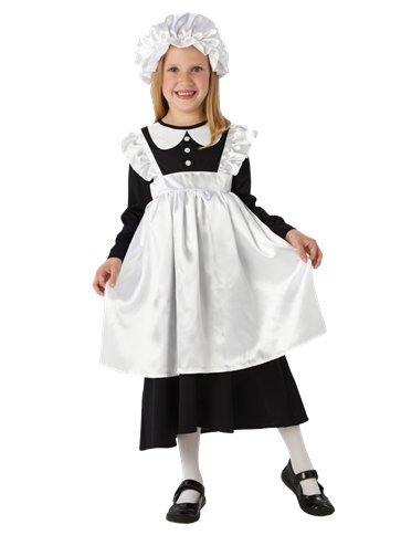 Victorian Maid - Child Costume front