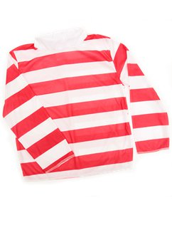 Child Red & White Striped Top