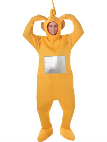Teletubbies Laa Laa - Adult Costume front