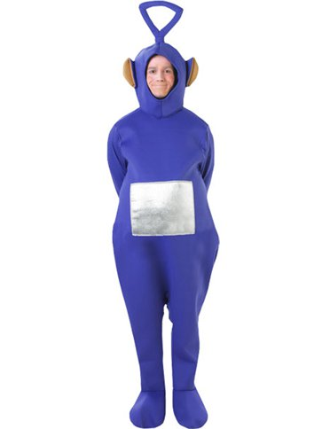 Teletubbies Tinky Winky - Adult Costume front