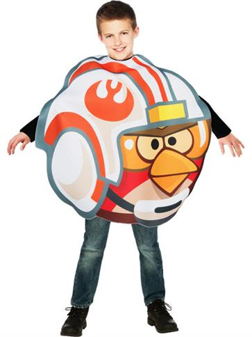 Luke Fighter Pilot Angry Birds - Child Costume front
