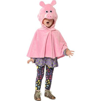 Pig Cape - Children's Animal Costume - Kids One Size front