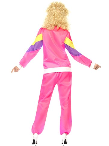 80's Shell Suit - Adult Costume back