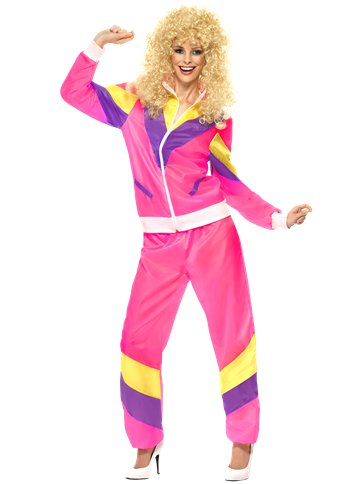 80's Shell Suit - Adult Costume front