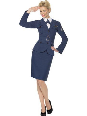 WW2 Air Force Captain - Adult Costume front