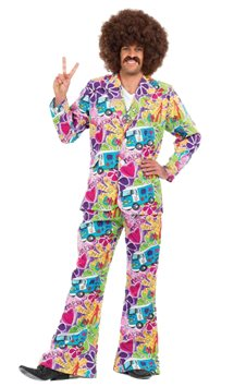 Psychedelic Suit - Adult Costume