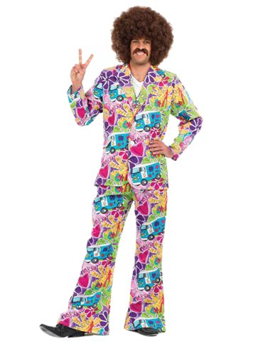 Psychedelic Suit - Adult Costume front