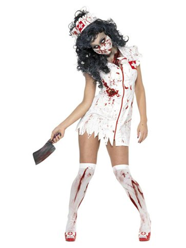 Zombie Nurse - Adult Costume front