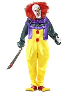 Classic Horror Clown - Adult Costume