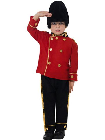 Busby Guard - Child Costume front