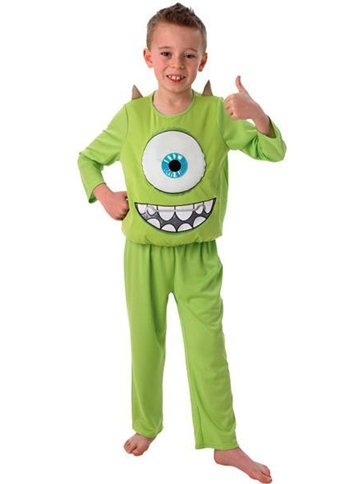 Monsters University Mike Deluxe - Child Costume front