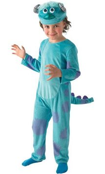 Monsters University Sulley Deluxe - Child Costume