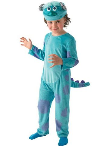Monsters University Sulley Deluxe - Child Costume front