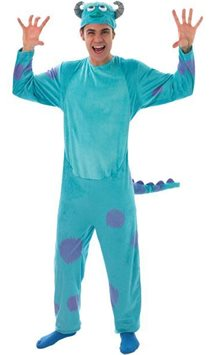 Monsters University Sulley Deluxe - Adult Costume