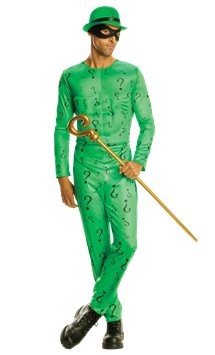 Classic Riddler - Adult Costume