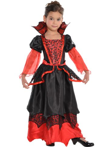 Vampire Queen Child Costume Party Delights