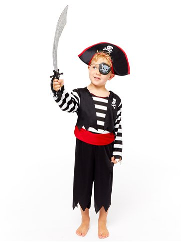 Deckhand Pirate - Child Costume back