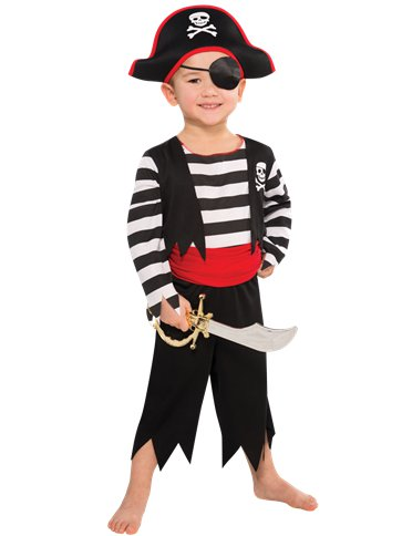 Deckhand Pirate - Child Costume front