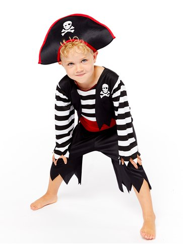 Deckhand Pirate - Child Costume pla