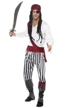 Pirate Man - Adult Costume